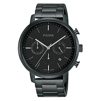 Pulsar classic Quartz Analog Man Watch with PT3935X1 Stainless Steel Bracelet