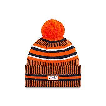 New Era Nfl Denver Broncos 2019 Sideline Home Sport Knit