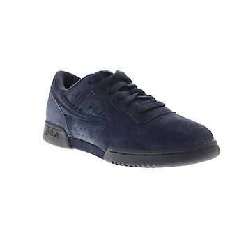 Fila original Fitness mens blå mocka casual låg Top sneakers skor