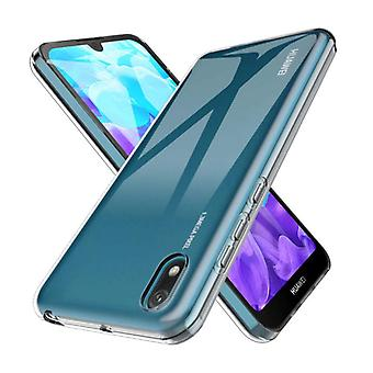 Stoff zertifiziert ® Transparent Clear Case Cover Silikon TPU Fall Huawei Y5 2019