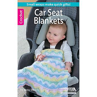 Leisure Arts Crochet Car Seat Blankets La 75469
