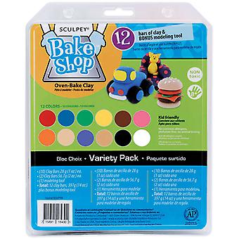 Sculpey Bake Shop Clay Variety Pack 14 Ounces Bavppa