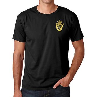 The Ulster Defense Regiment UDR Embroidered Logo - Official British Army Ringspun T Shirt