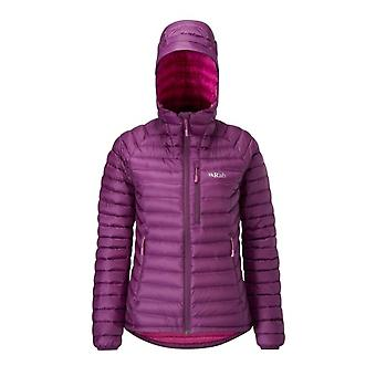 Rab Womens Microlight Alpine Jacket Berry (Size UK 8)