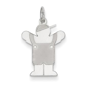 Charm in argento Sterling amore Kid -.6 grammi