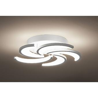LED ceiling light vivo Elica Ø 49 cm 54W 3000 K ALU Matt White Kiom 10702