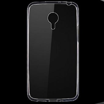 Meizu Meilan not 2 transparent fodral cover silikon