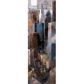 Ein Blick auf II - Chrysler Building Poster Print von Marti Bofarull erinnern