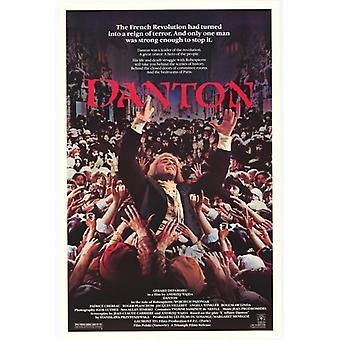 Danton Movie Poster drucken (27 x 40)