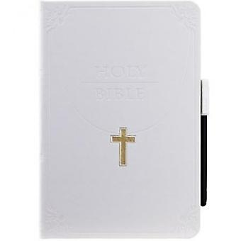 Ozaki wisdom folding cover case of iPad mini Holy Bible white
