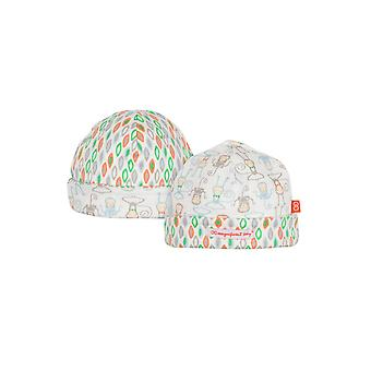 Magnificent Baby Magnetic Me™ Reversible Baby Boy Cap- Yoga Monkey