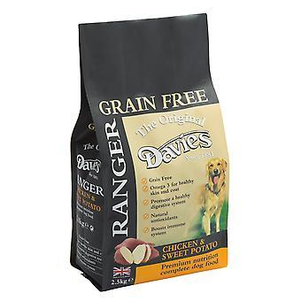 Davies Ranger korn frie kylling & sød kartoffel 2,5 kg