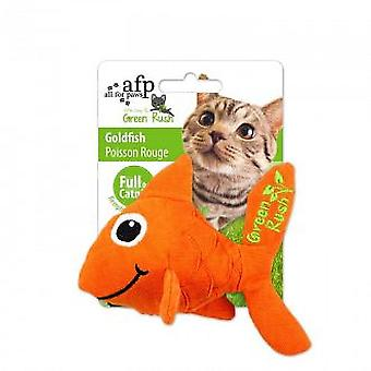 AFP Red fish (gatos, juguetes, y la pluma de peluches)