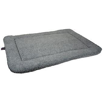 Rectangle Fleece Cushion Pad Silver Grey Size 4 106x76x5cm