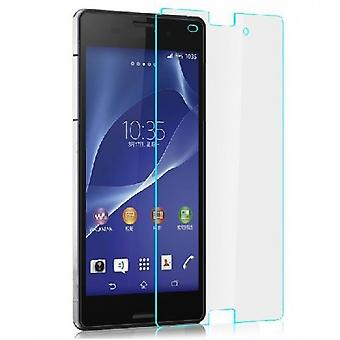 2 x 100% GENUINE TEMPERED GLASS SCREEN PROTECTORS FOR SONY XPERIA Z3
