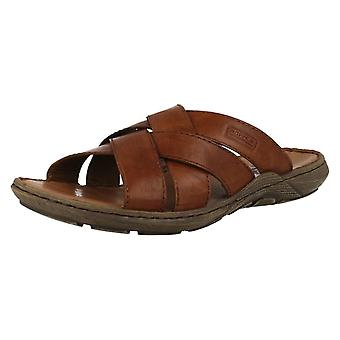 Mens Rieker Slip på sommar sandaler 22098