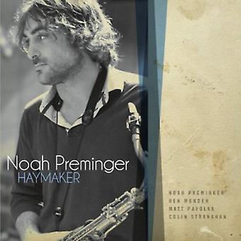 Noah Preminger - Haymaker [CD] USA import