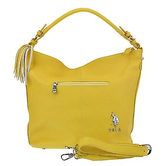 U.S. POLO ASSN. Handbag with shoulder strap front zip Pocket 32-47x14x35 cm
