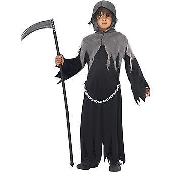 Traje Sensenmann Niños con capa y capucha traje de los niños