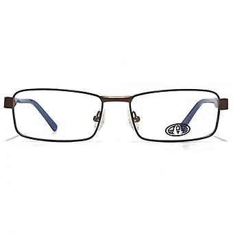 Animal Blake Soft Rectangle Glasses In Brown