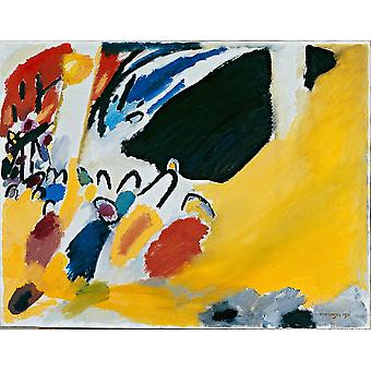 Wassily Kandinsky - Impression III (Concert) Poster Print Giclee