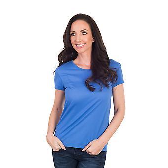Agiato kvinders grundlæggende Crew Neck T-Shirt