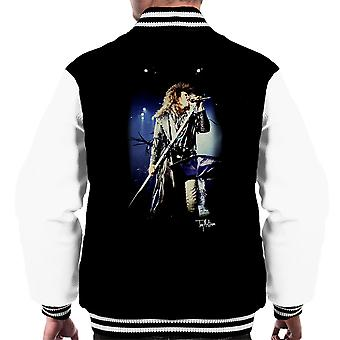 Jon Bon Jovi Performing Live Men's Varsity Jacket