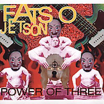 Fatso Jetson - Power af tre [CD] USA import
