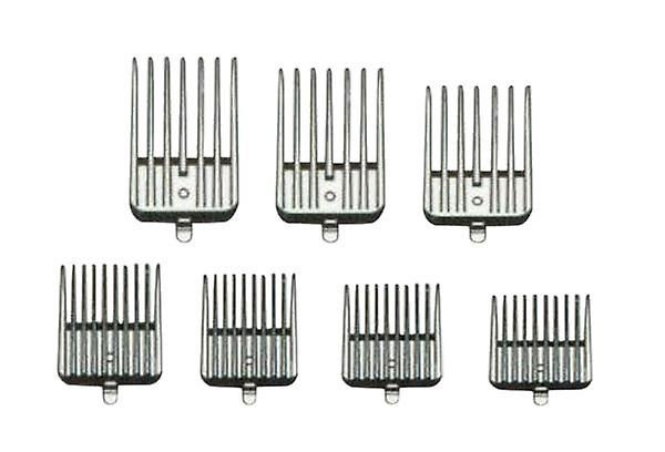 Andis 21684 7-Piece Clipper Attachment Combs