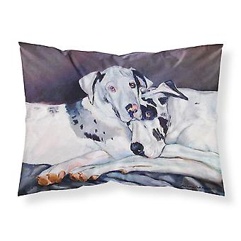 Harlequin Natural Great Danes Moisture wicking Fabric standard pillowcase