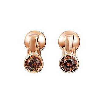 Joop women's earrings silver Rosé cubic zirconia Meryl JPER90301C000