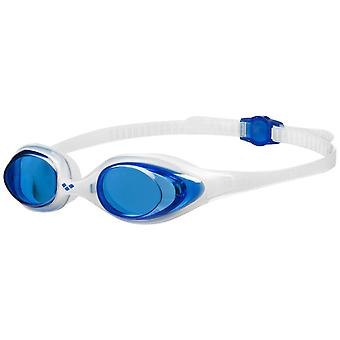 Arena Spider Adult Swim Goggle - Blue Lens - Clear