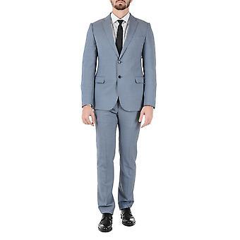 Armani Collezioni Mens Suit Light Blue