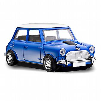 Official Motormouse Classic Mini Cooper Car Wireless Computer Mouse - Blue
