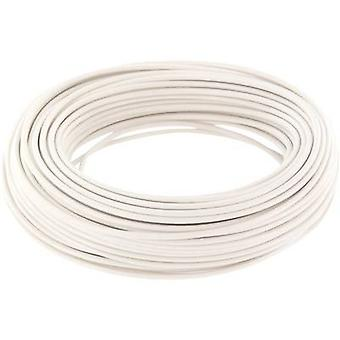 Jumper wire 1 x 0.20 mm² White BELI-BECO D 105/10