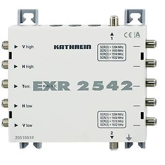 SAT unicable cascade multiswitch Kathrein EXR 2542 Inputs (multiswitches): 5