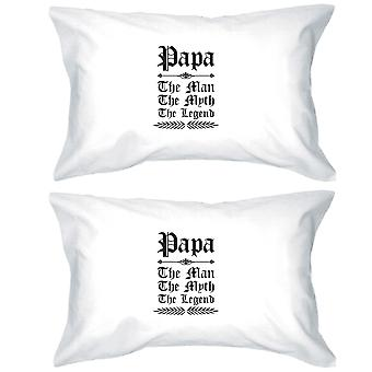 Vintage Gothic Papa Cotton Pillowcases Queen Size Lovely