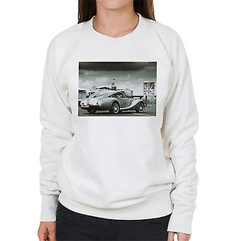 Morgan Motor Aeromax In The Paddock At Silverstone Women's Sweatshirt
