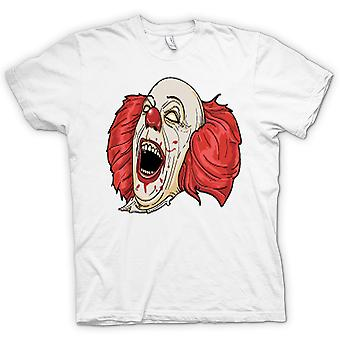 Bambini t-shirt - Stephen King It di Pennywise ritratto