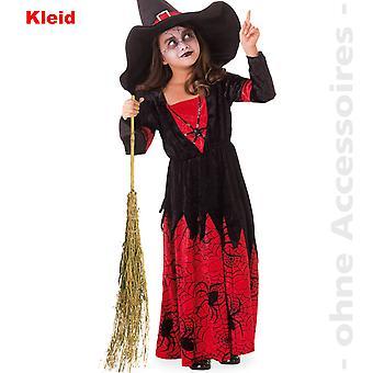 Strega costume bambini filatura ragazza strega Halloween bambino costume
