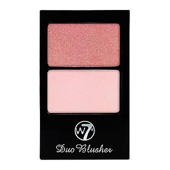 W7 Cosmetics Duo Blusher Compact 7g