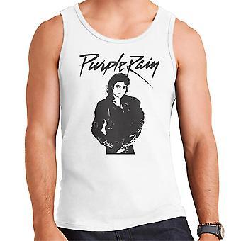 Michael Jackson Purple Rain Troll Herren Weste