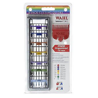 Wahl Colour Coded Plastic Comb Attachments For Standard Multi Cut Clippers