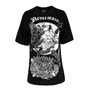 Restyle Nevermore Oversized T-Shirt