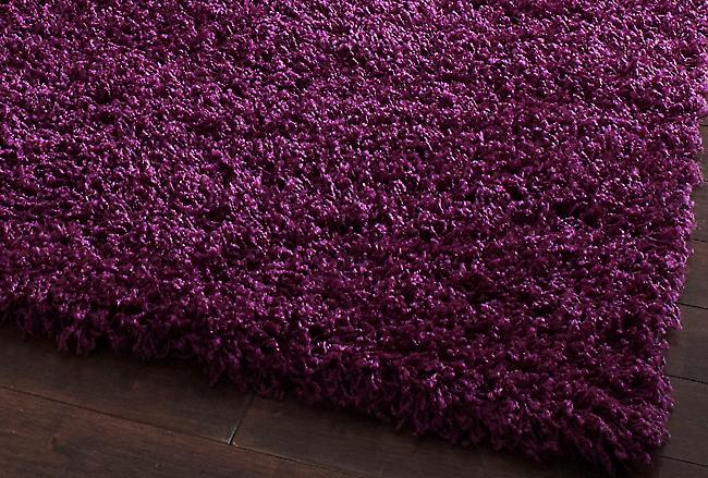 Vista - Plain 2236 Purple Purple Rectangle Rugs Plain/Nearly Plain Rugs