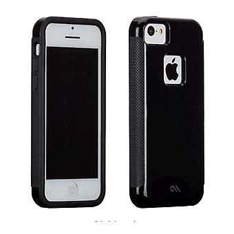 5 Pack -Case-Mate Pop! Case for Apple iPhone 5c - No Stand (Black/Black)
