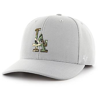47 fire Adjustable Cap - CAMOFILL LA Dodgers steel grey