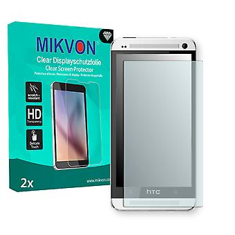 HTC One LTE Screen Protector - Mikvon Clear (Retail Package with accessories)