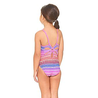 Zoggs Ikat Yaroomba Floral Swimsuit Pink/Multi