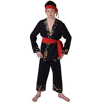 Barn kostymer Ninja karate Dress for gutter